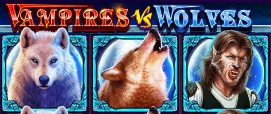 Vampires vs Wolves wolf freespin1